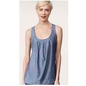 CAbi Chambray Romp Top